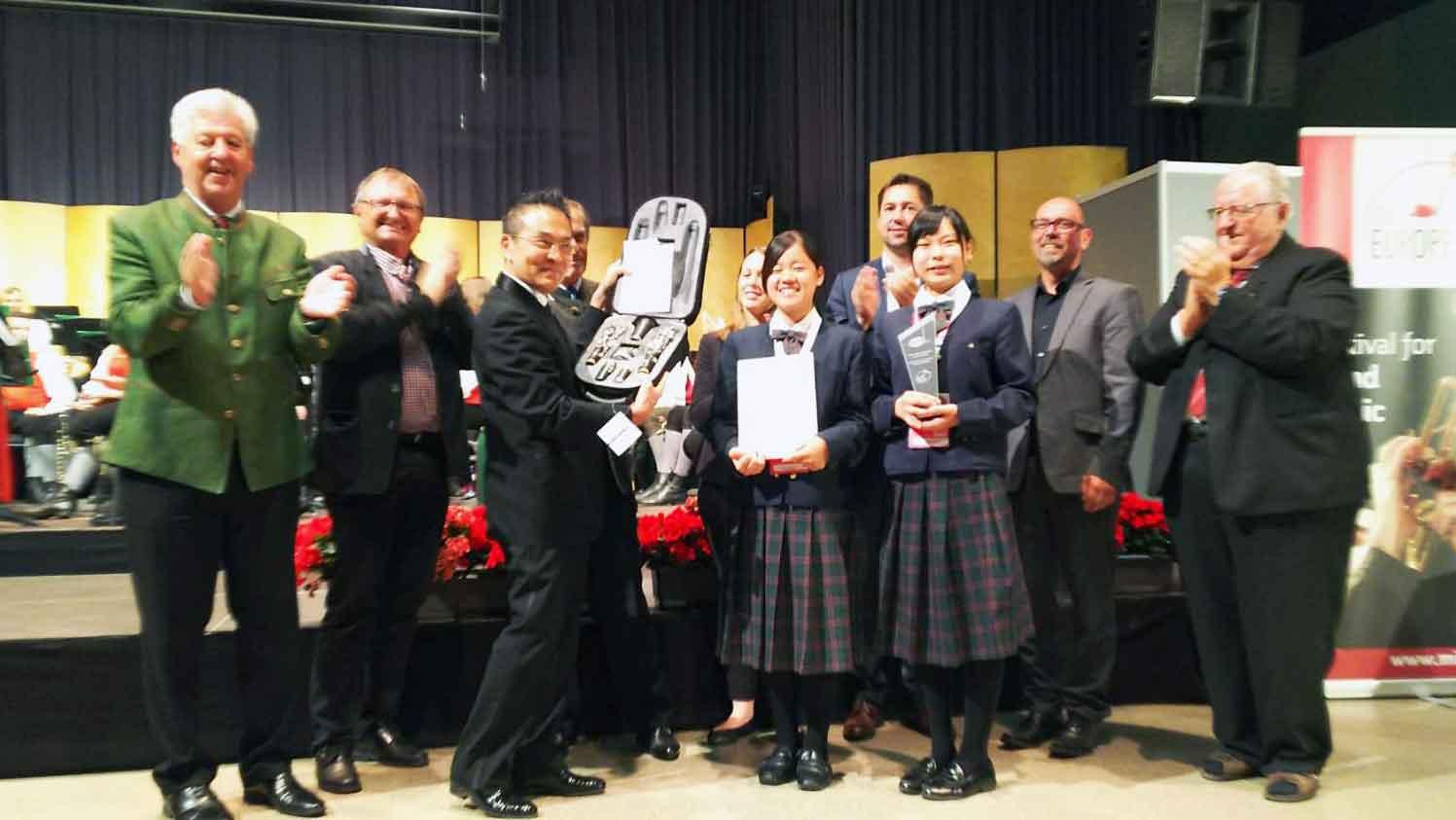 第20回ミッドヨーロッパ国際青少年吹奏楽音楽祭コンクール